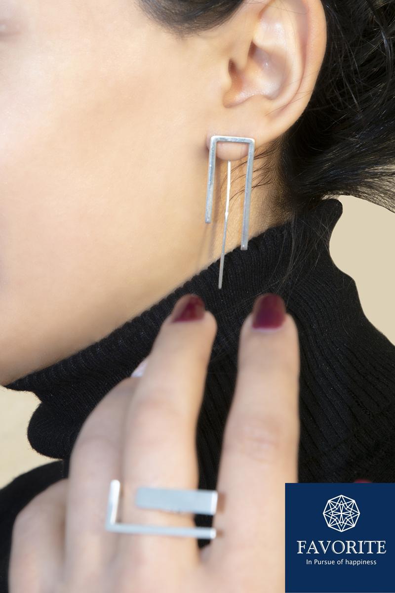 Earrings F003