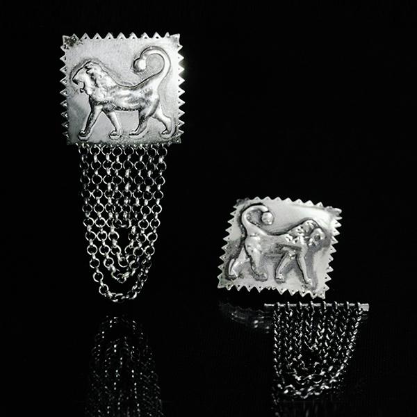 Lions Sevada earrings