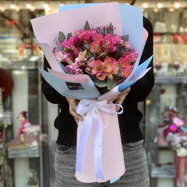 Bouquet Of Flowers Paris