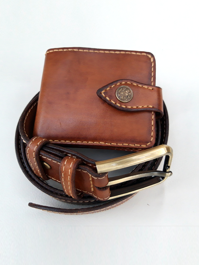 Wallet and belt 037