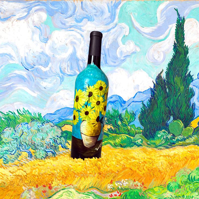 вино подсолнухи