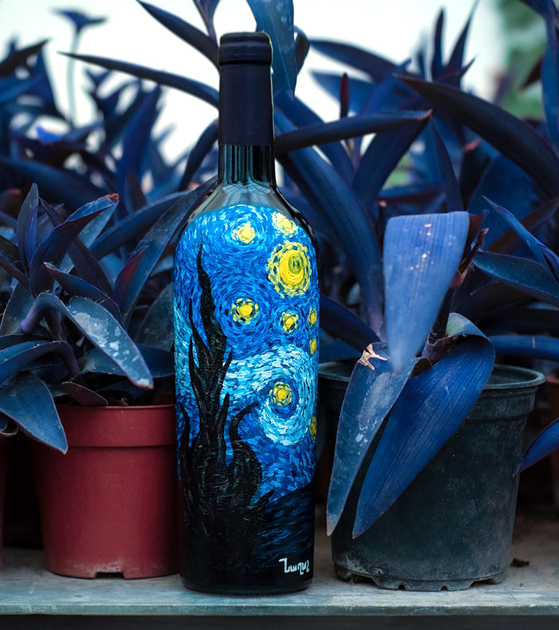 вино звездное небо
