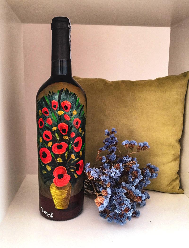 wine. martyros saryan flowers