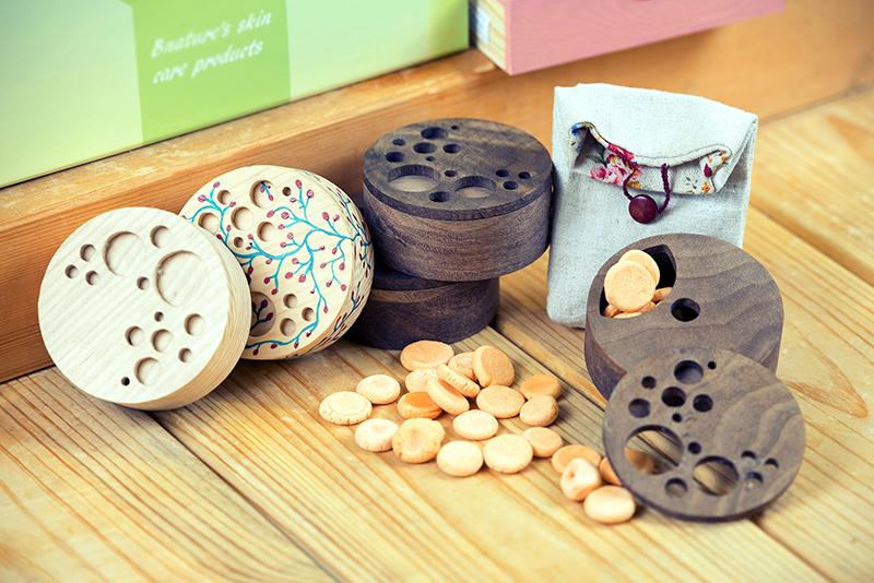 Деревянная ароматическая коробка