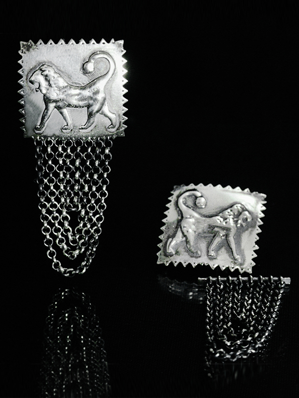 Lions Sevada earrings