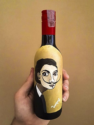 wine Salvador Dali