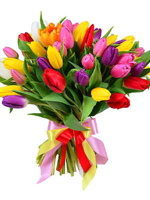 "Bouquet Of Tulips ""Spring"""