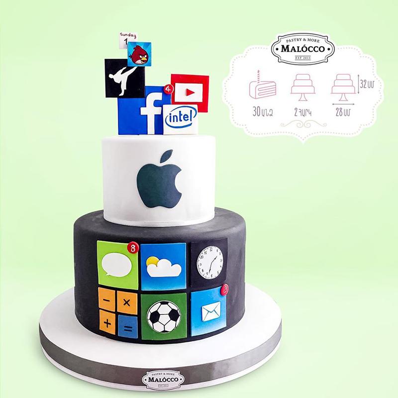 Торт Аpple